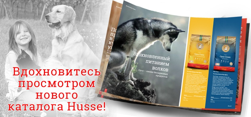новый каталог продукции Husse 2018